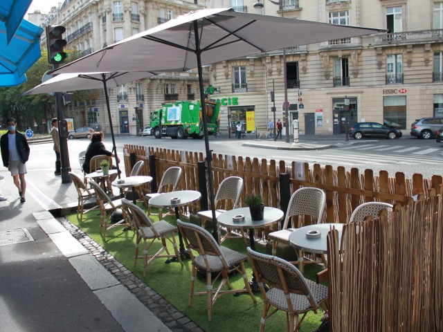 Le Passy Notre terrasse éphémère..